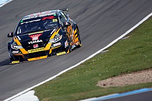 BTCC Race report Thruxton BTCC: Neal converts pole into 60th career win