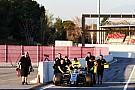 Інфографіка тестів Ф1: кілометраж команд у Барселоні