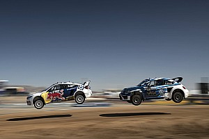 Global Rallycross Race report Tanner Foust wins Red Bull Global Rallycross Phoenix I