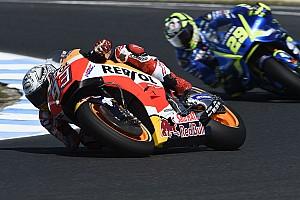 MotoGP News Bestzeit knapp verpasst: Marc Marquez sucht auf Phillip Island nach mehr Stabilität