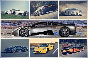 Automotive News Sieben Supersportler, die schneller sind als Formel-1-Boliden