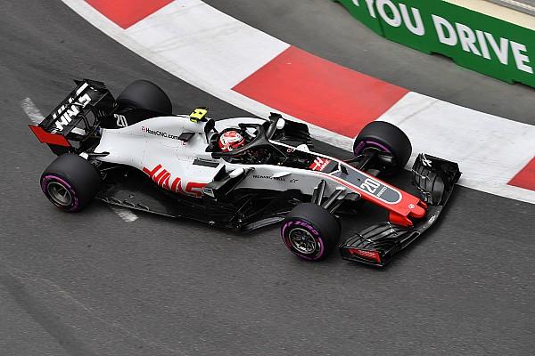 Haas укрепила детали обвеса. На прошлых гонках они отлетали от машины