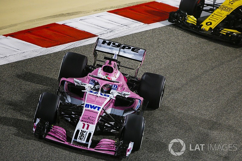 Pérez et Hartley pénalisés pour une erreur dans le tour de formation