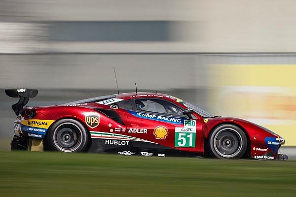 WEC Photos - Ferrari présente des 488 GTE rouge métallisé !