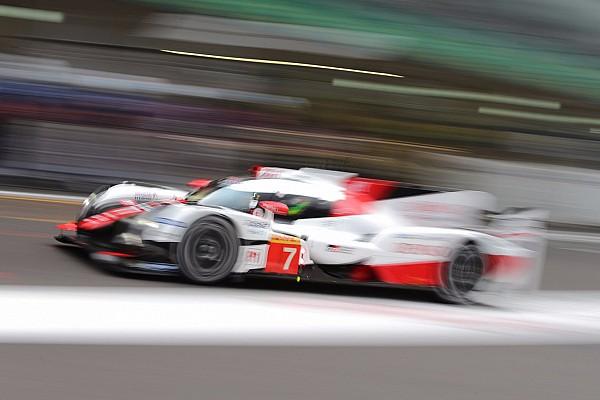 WEC Toyota tercepat di FP1 WEC Shanghai 6 Jam