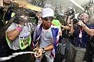 GALERI: Pesta juara dunia Hamilton di Meksiko