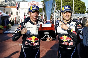 WRC Reaktion Monte-Sieger Sebastien Oiger: