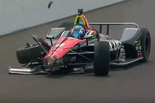 IndyCar Trainingsbericht Indy 500: Karam führt Montagstraining an - Crash von Wickens