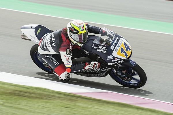 Moto3 Qualifying report Moto3 Argentina: Arbolino pertama kalinya start terdepan