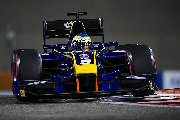 Oliver Rowland gana la penúltima carrera de F2 en Abu Dhabi