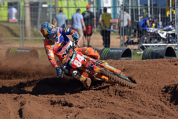 Mondiale Cross MxGP Jeffrey Herlings domina le qualifiche della MXGP in Lettonia