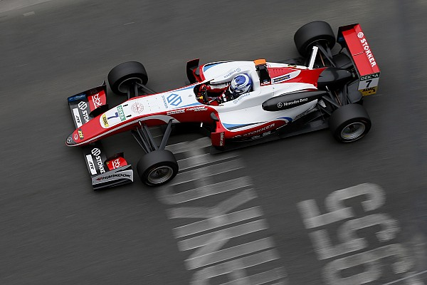 EK Formule 3 Raceverslag F3 Pau: Aron wint ingekorte race na bliksemstart