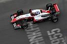 Евро Ф3 Арон выиграл третью гонку Ф3 в По под дождем