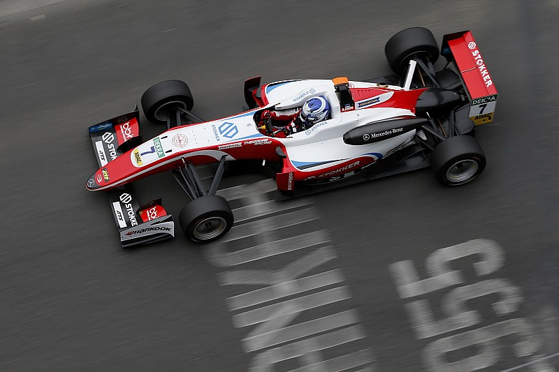 Pau F3: Aron wins rain-shortened Grand Prix