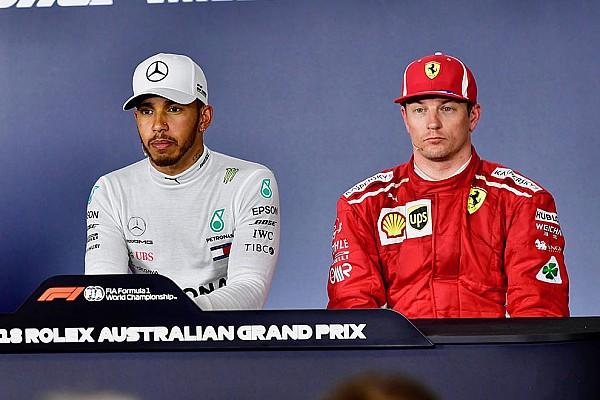 Формула 1 «Кими вдруг снова быстр». Хэмилтон отметил скорость Райкконена