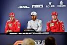 Vettel ile Hamilton'ın atışması, Raikkonen'in