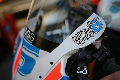 Michael Dunlop pays emotional tribute to late brother William
