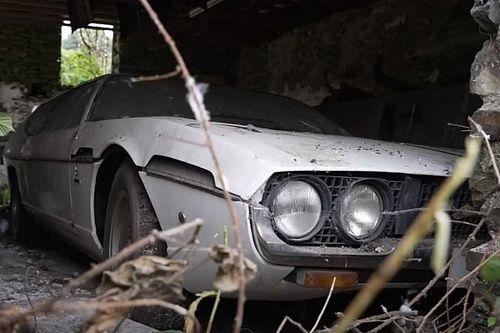 ¡Este Lamborghini Espada ha estado abandonado 30 años!