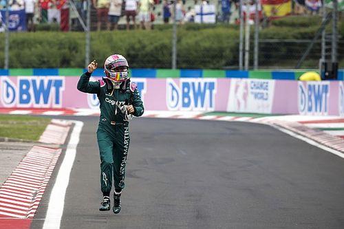 Peligra el segundo puesto de Vettel por infracción