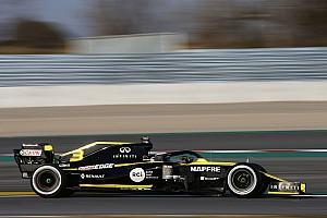 Ricciardo utolsó lett az első tesztnapon a Renault-val, de nem aggódik