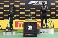"Radio controlled podium robots ""weird"", says Hamilton"
