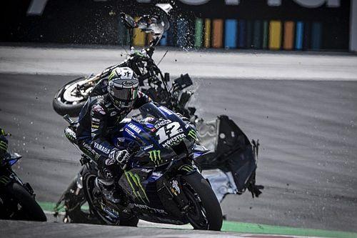 """Quartararo """"never watches"""" crash replays after MotoGP red flags"""