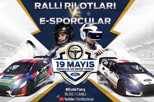 Ralli pilotları, eSpor oyuncularıyla mücadele edecek!