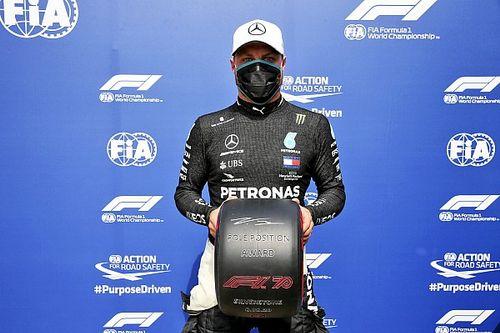 Bottas pokonał Hamiltona