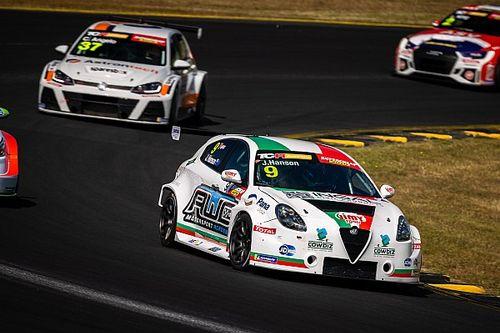 TCR Australia rookie splits with team