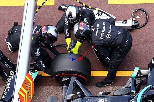 Mercedes dévoile une vidéo du retrait de la roue de Bottas