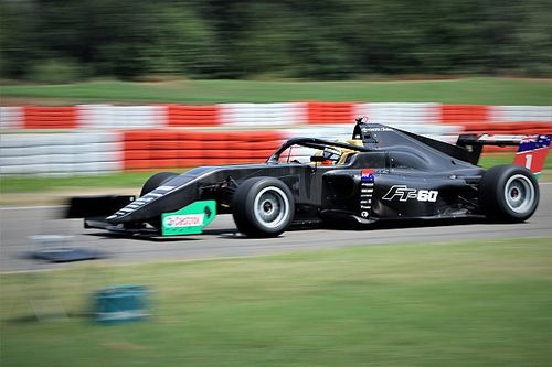 New Toyota Racing Series car completes first test