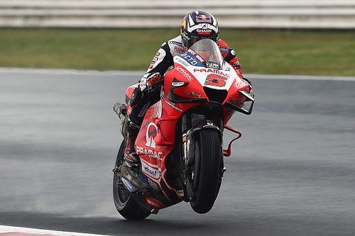 Emilia Romagna MotoGP: Zarco tops wet FP3, title contenders in Q1