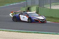 GT Italiano: buoni test per la Honda di Nova Race a Vallelunga