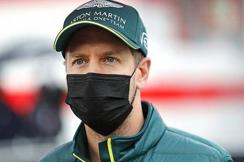 """Vettel: """"Şu an bulunduğumuz noktada, şampanyadan uzak görünüyoruz"""""""