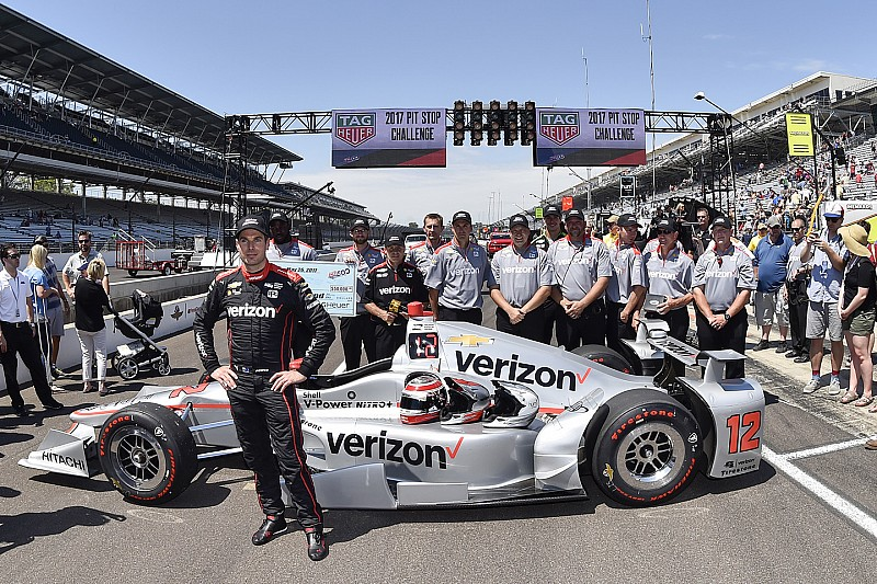 Indy 500: Power's Penske crew win pit stop competition