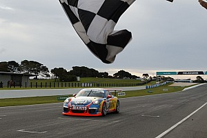 Porsche Race report McBride/Thomas win first leg of Carrera Cup Pro-Am