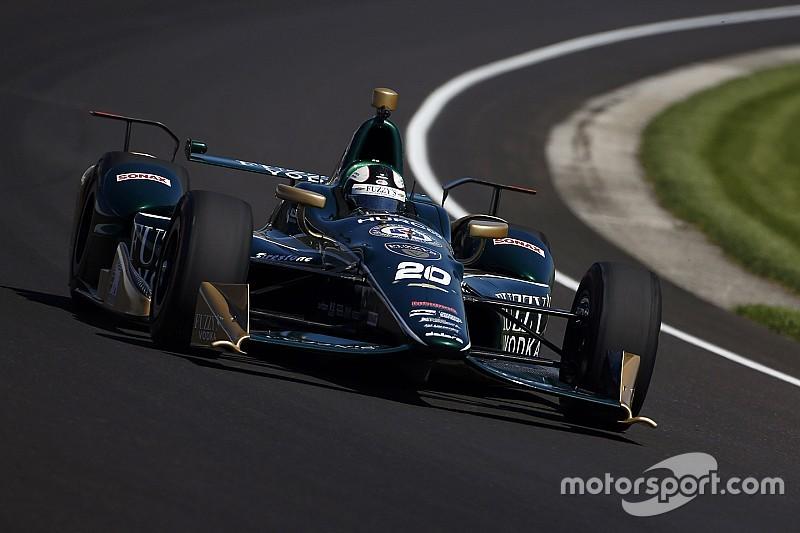 Карпентер стал лучшим в тренировке Indy 500, Алонсо четвертый