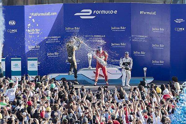 Di Grassi remontó para ganar en una caótica carrera en México