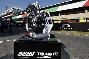 Moto2 Ultime notizie 10 giorni di test nel 2018 per familiarizzare con il motore Triumph