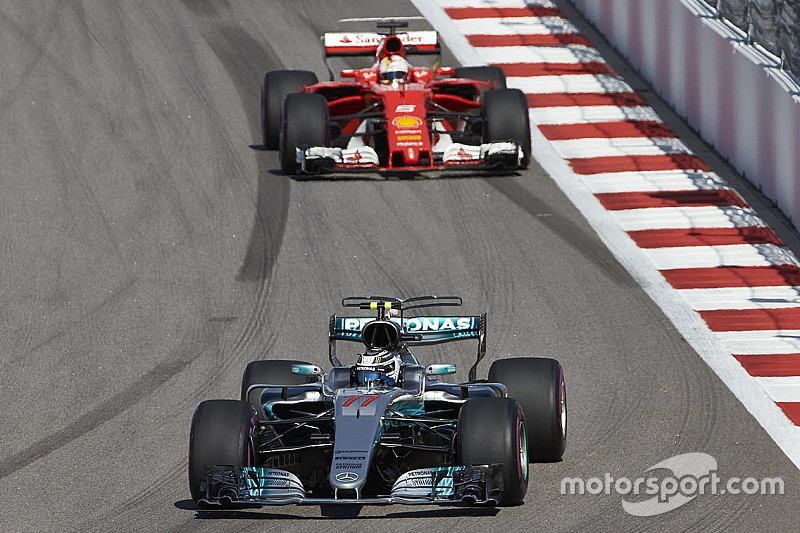 Боттаса удивила скорость Ferrari в начале сезона