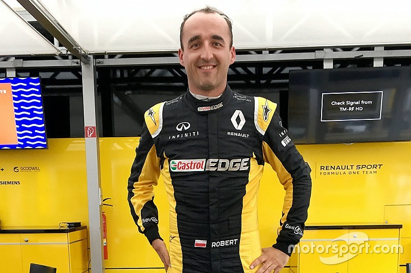Kubica Passes Mandatory F1 Extraction Test