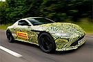 Видео: Ферстаппен протестировал новый Aston Martin Vantage