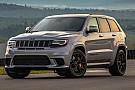 Automotive Primera prueba del Jeep Grand Cherokee Trackhawk 2018