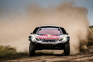 Cross-Country Rally Leg report Loeb crashes out of dominant Silk Way Rally lead