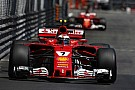 Downbeat Raikkonen says second