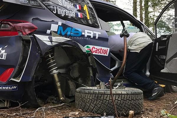 WRC Actualités Accident coûteux pour Ogier