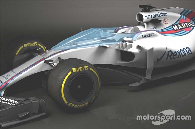 """Formel 1 2017 vor Test des Cockpitschutzes """"Shield"""" in Silverstone"""
