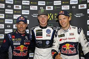 World Rallycross Réactions Loeb et Ekström sont décidément les meilleurs des autres...