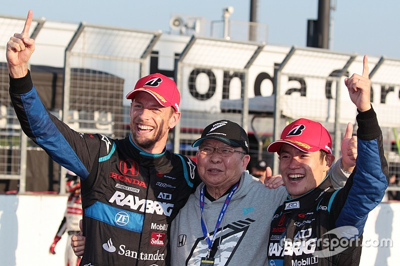Баттон сравнил победу в Super GT с титулом чемпиона Ф1