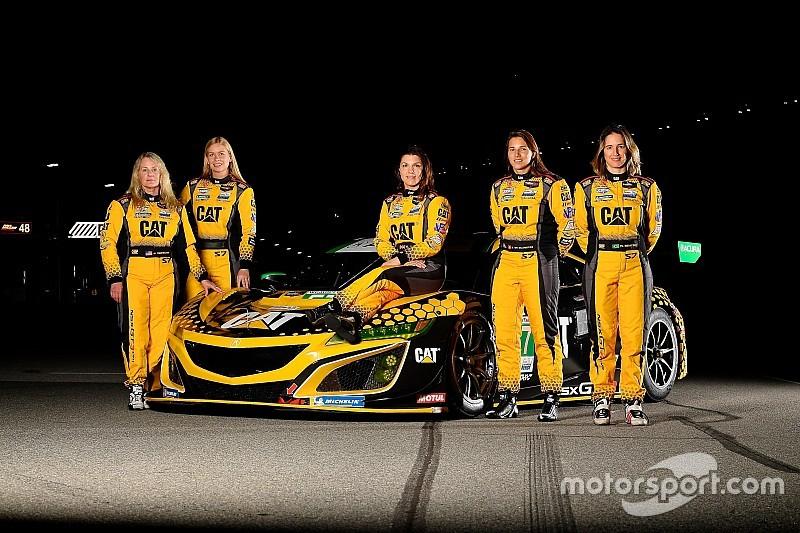 Női négyessel támad a Meyer Shank Racing a Daytona 24 óráson